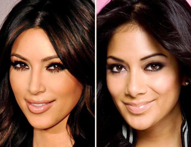 Kim Kardashian ve Nicole Scherzinger