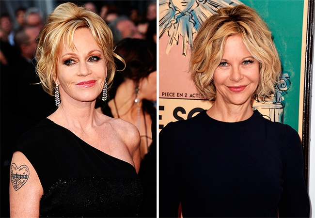 Melanie Griffith ve Meg Ryan