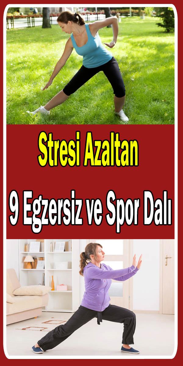 Stres azaltan egzersizler ve sporlar