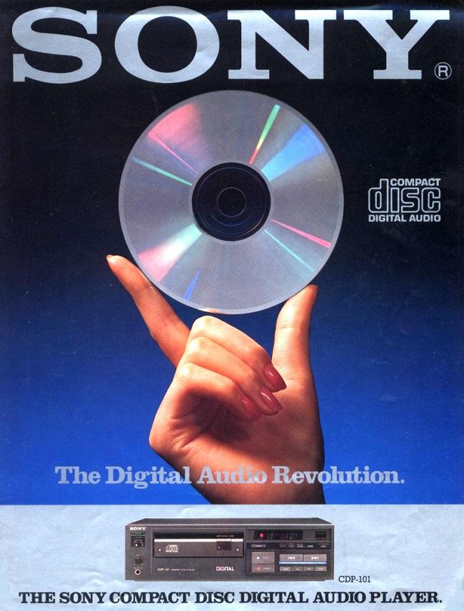 Tarihteki ilk CD