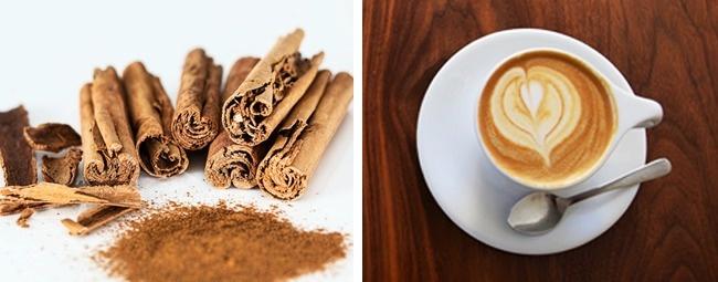 kahve ve tarçın