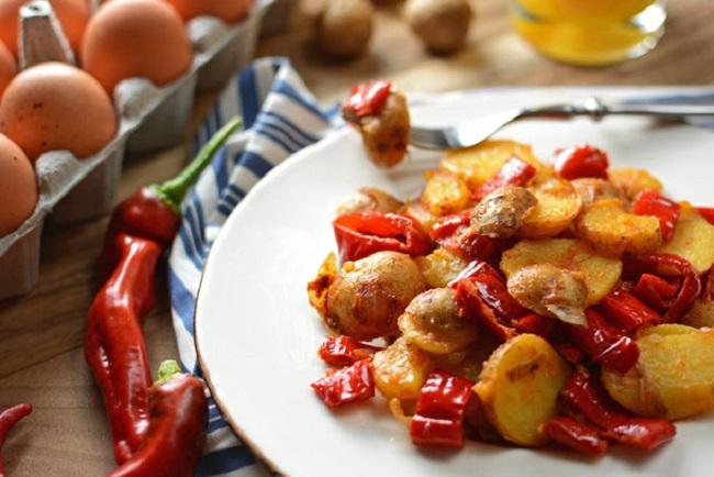 patates ve biber