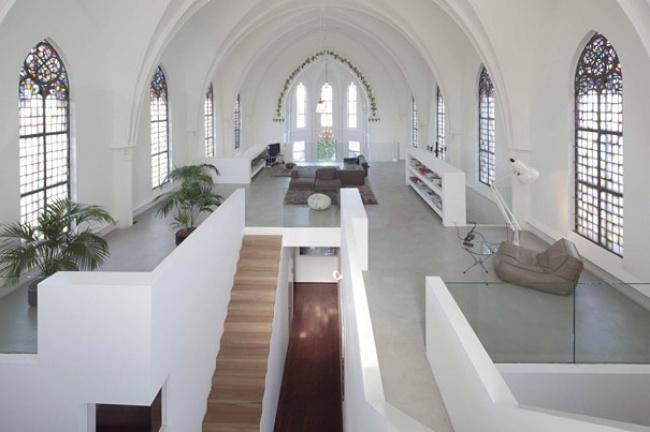 Dönüştürülmüş Kilise Ev
