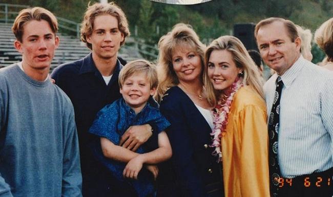Paul-Walker ailesi