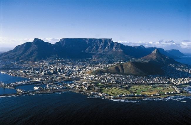Güney Afrika'daki Masa Dağı