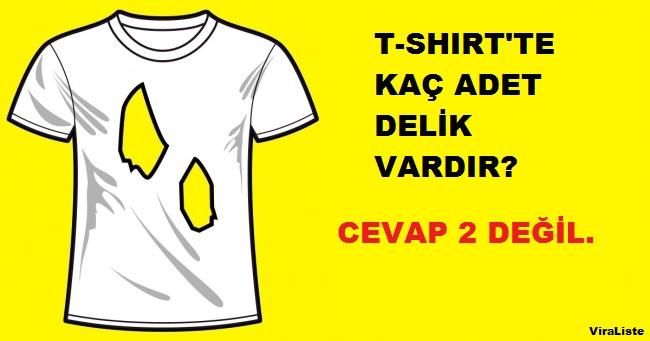 Yırtık t-shirt