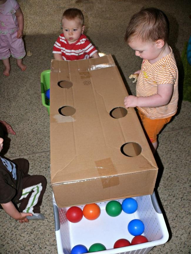 bebek için evde oyunlar