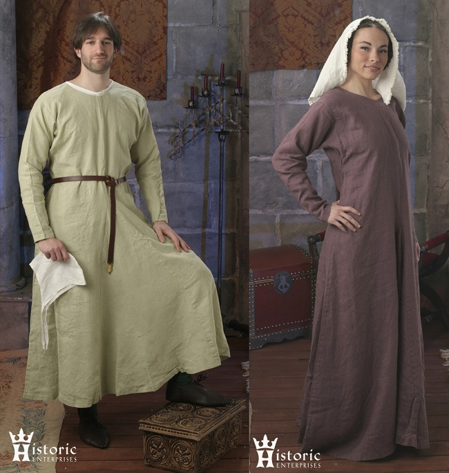 ortaçağ kıyafetleri