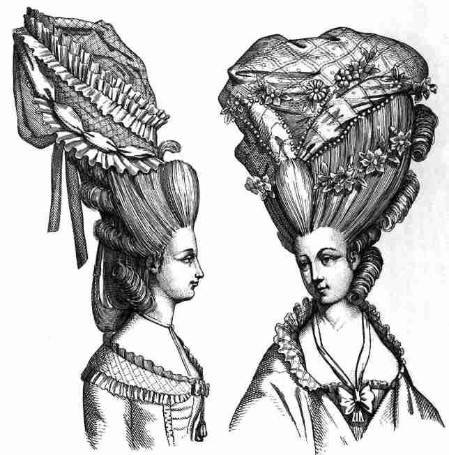 ortaçağ perukları