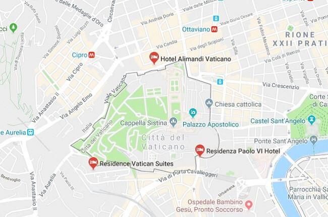 Vatikan Yuz Olcumu